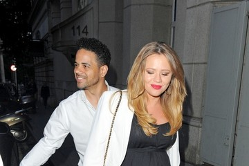 Justin Scott Cheryl Cole and Her Husband Throw an Engagement Party