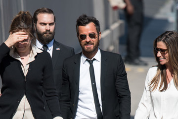 Justin Theroux Justin Theroux Visits 'Jimmy Kimmel Live'