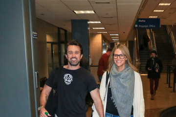 Kaitlin Olson Celebs Arrive to Sundance Film Festival at Salt Lake City Airport