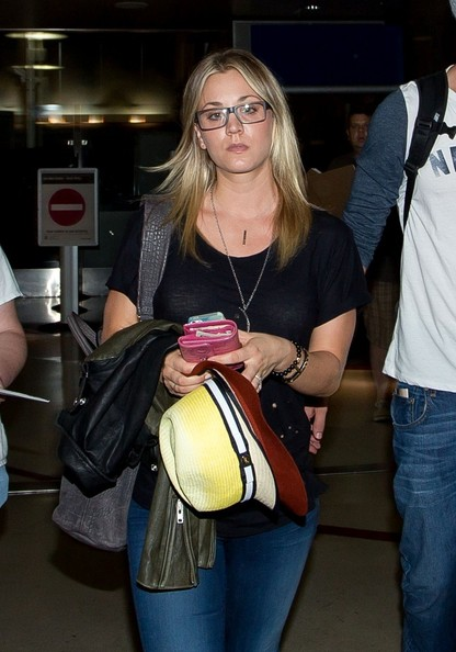 Think, Kaley cuoco glasses phrase very