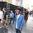 Kamil McFadden Kamil McFadden Outside 'Solo: A Star Wars Story' Premiere at Dolby Theatre