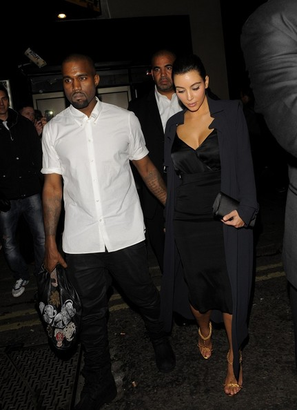 Kanye West - Celebs Party At Dstrkt Night Club