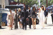 The Kardashians Gather for Lunch