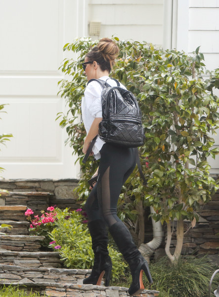 Kate Beckinsale out and about..