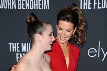 Kate Beckinsale Lily Mo Sheen Pink Party 2013