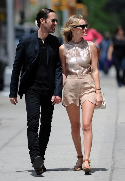 Kate+Bosworth in Kate Bosworth and Michael Polish Out for a Walk
