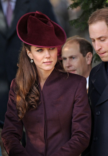 english royals attend services at sandringham christmas 2011 - Kate Middleton Christmas