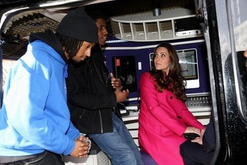 Kate Middleton Prince William and Catherine Support Development Opportunities For Young People