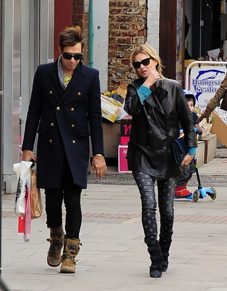 Kate Moss and Jamie Hince Out to Lunch