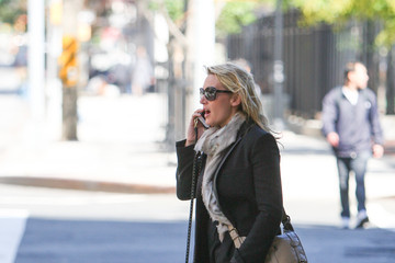 Kate Winslet Kate Winslet Waves in New York