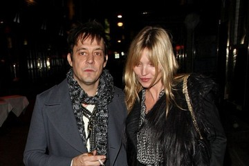 Kate Moss Kate Moss and Jamie Hince Dine Out