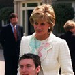 Princess Diana Prince William and Kate Middleton at St. James Palace