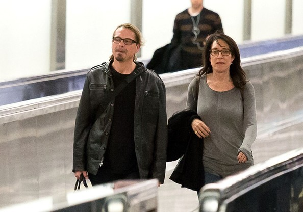 Katey Sagal Pictures - Kurt Sutter and Katey Sagal at LAX ...
