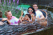 Katie Price At an Amusement Park - The Week in Pictures - August 21, 2009