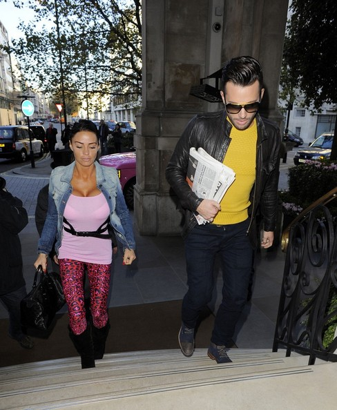 Katie Price and Rylan Clark Do Lunch []