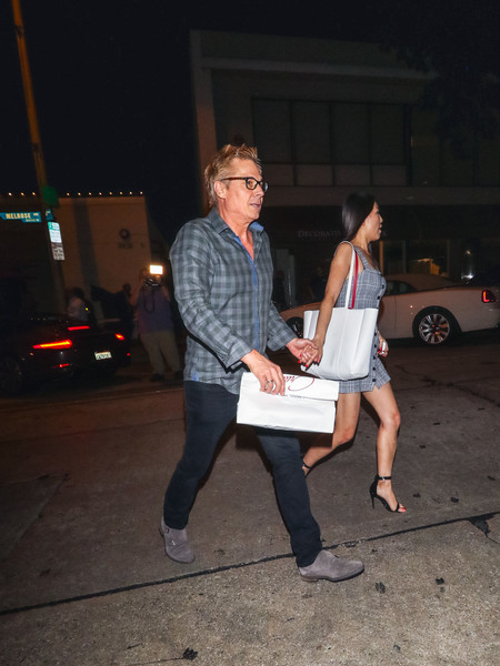 Kato Kaelin Outside Craig's Restaurant In West Hollywood
