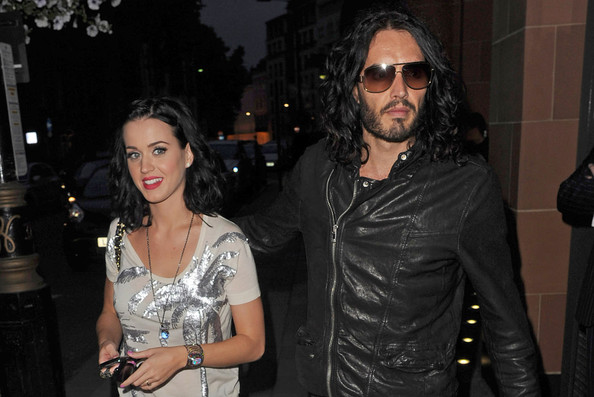 Report: Katy Perry Is Writing a Wedding Song for Russell Brand ...