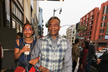 Keith David Keith David Outside Pantages Theatre In Hollywood