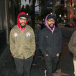 Keith Lucas Kenny And Keith Lucas Outside Katsuya Restaurant In Hollywood