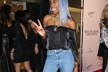 Keke Palmer Celebrities Attend the Opening of What Goes Around Comes Around