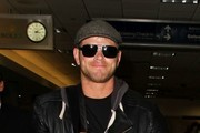 Kellan Lutz at LAX