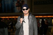 Kellan Lutz seen at LAX