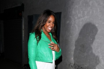 Kelly Rowland Celebs Enjoy a Night Out in Hollywood