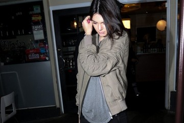 Kendall Jenner Kendall Jenner Enjoys a Night Out