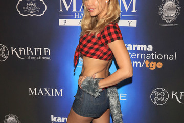 Kennedy Summers Maxim Magazine's Annual Halloween Party