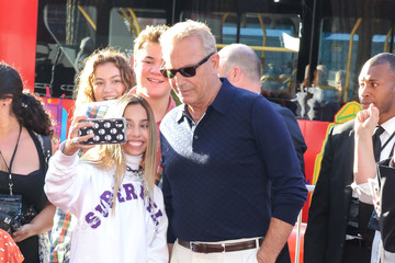 Kevin Costner Premiere Of 20th Century Fox's 'The Art Of Racing In The Rain'
