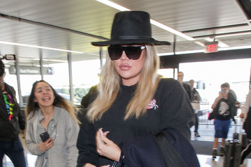Khloe Kardashian Khloe Kardashian at LAX International Airport