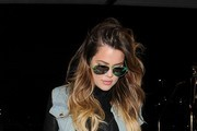 Khloe Kardashian Prepares for Take Off