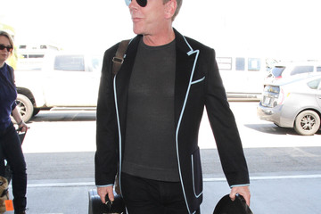 Kiefer Sutherland Kiefer Sutherland Arrives at LAX