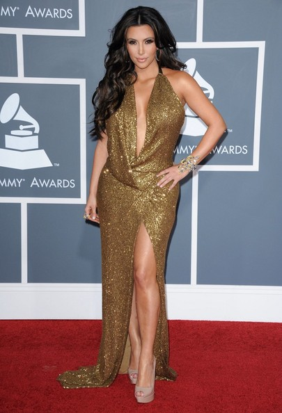 Kim Kardashian The 53rd Annual GRAMMY Awards.Staples Center, Los Angeles, CA.February 13, 2011.