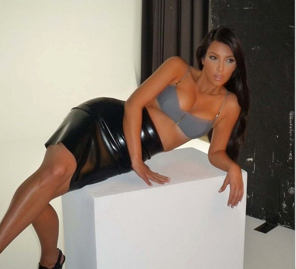 No One Would Lend Kim Kardashian Clothes For Her 'Elle' Shoot—Sad Face!
