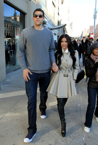 Kim Kardashian And Boyfriend Kris Humphries Kim Kardashian And Kris