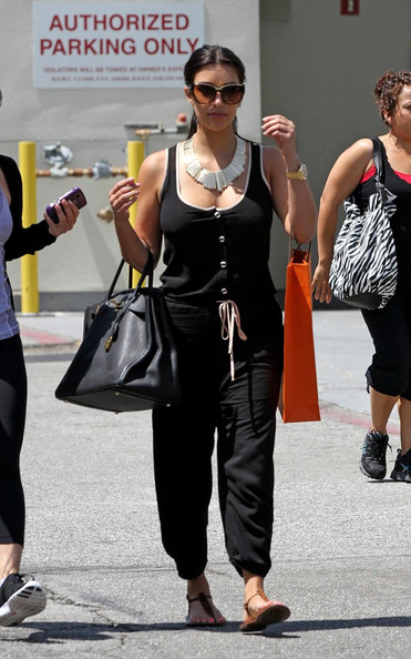 replica hermes bag - Kim Kardashian Shops at Hermes - Pictures - Zimbio