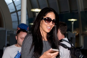 Kimora Lee Simmons Kimora Lee Simmons at LAX