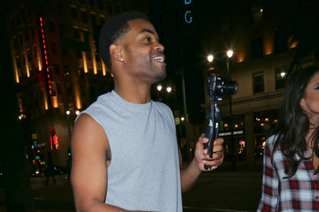 King Bach Celebrities Are Seen at Katsuya Restaurant