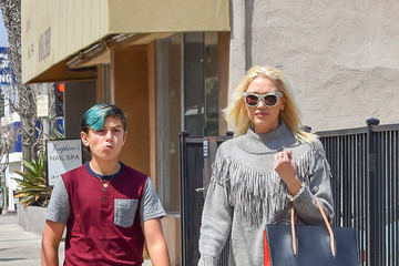Kingston Rossdale Gwen Stefani And Her Son Kingston Go Out In L.A.