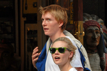 Christian Dunst Kirsten Dunst in the West Village