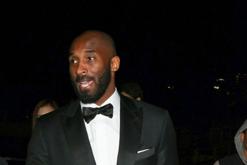 Kobe Bryant Celebrities Are Seen at the 44th Annual Annie Awards at Royce Hall