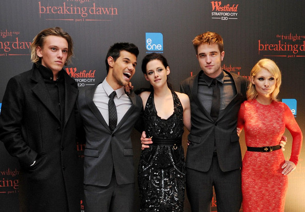 "Kristen Stewart The UK premiere of ""The Twilight Saga: Breaking Dawn Part 1"" held at Westfield Stratford City shopping mall."