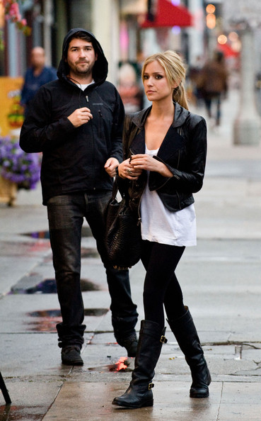 Kristin Cavallari and Justin Bobby on Melrose Avenue - Zimbio