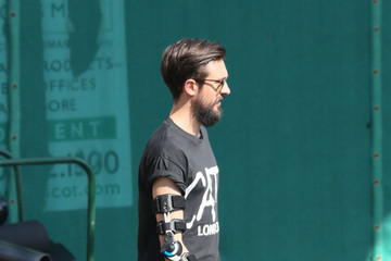 Kyle Simmons Celebrity Sightings at 'Jimmy Kimmel Live'