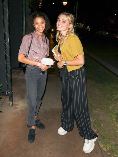 Kylee Russell And Meg Donnelly At The Grove In Hollywood