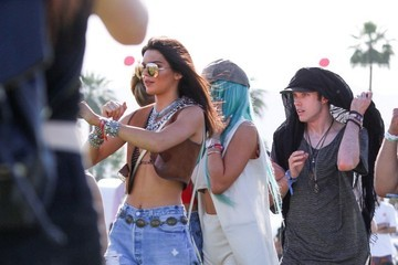 Kylie Jenner Coachella Valley Music and Arts Festival- Day 1