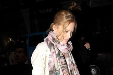 Kylie Minogue Another starstudded night at Chiltern Firehouse