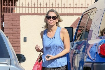 Kym Johnson Celebs at 'Dancing with the Stars' Rehearsal