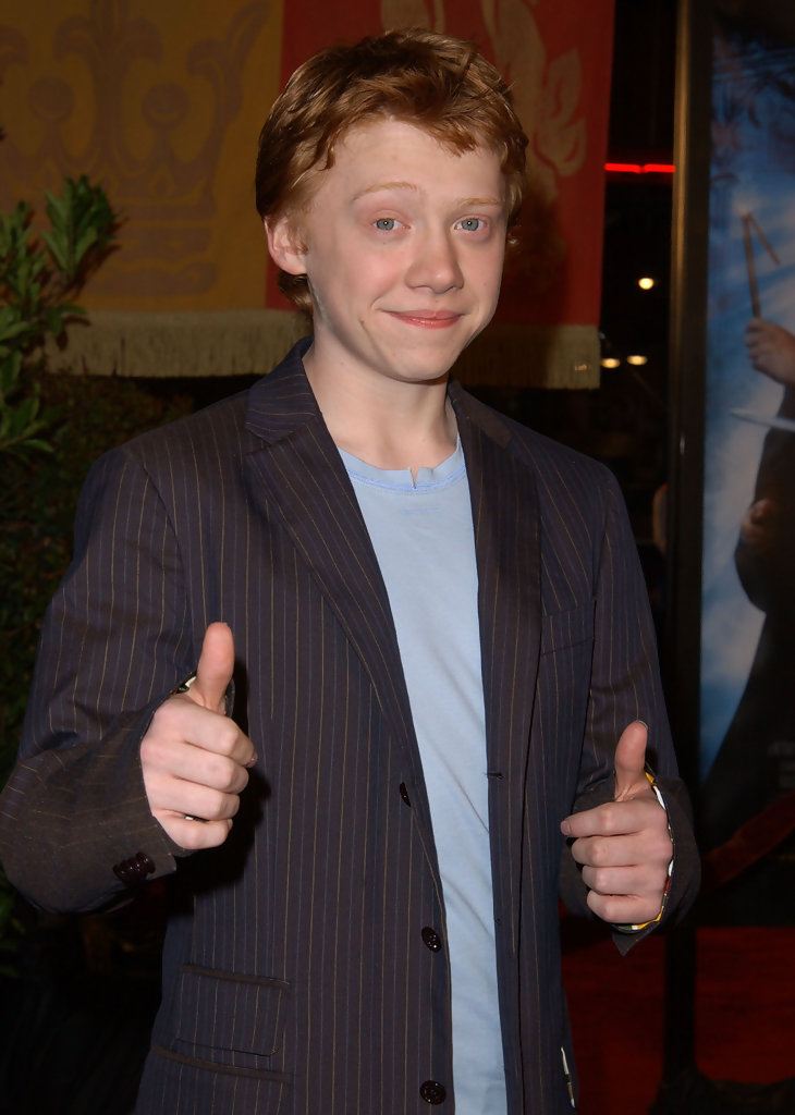 Rupert Grint: Ron Weasley - 'Harry Potter' Stars Then and ... Daniel Radcliffe Rapping
